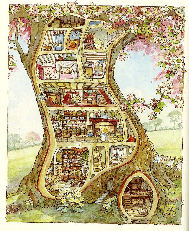 BRAMBLY HEDGE Spring