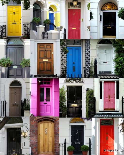 des portes anglaises !
