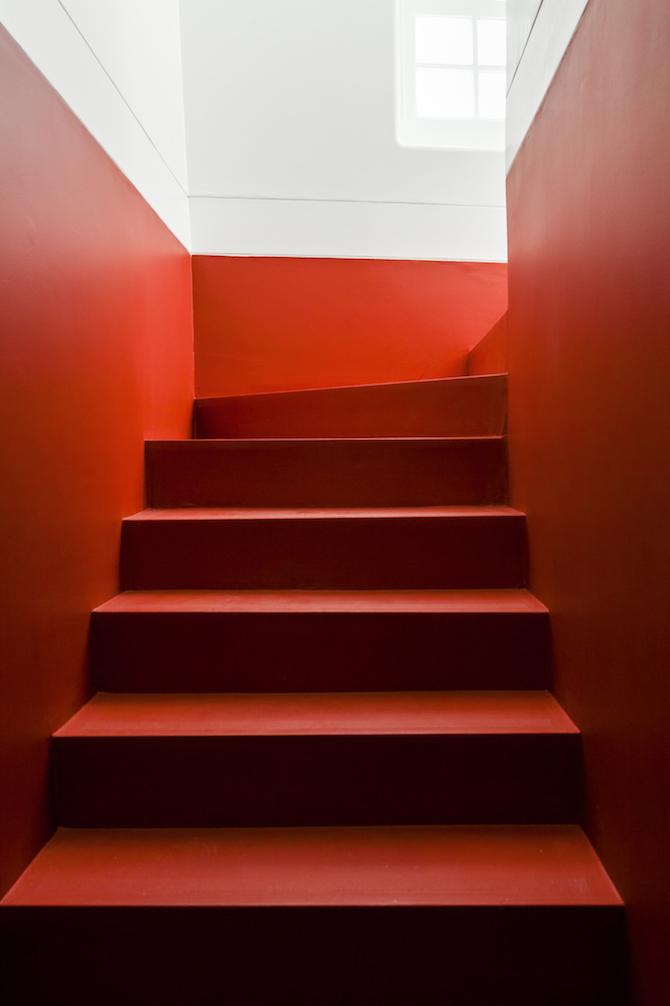 L'escalier Après