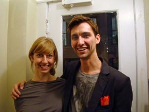 Jenny Chapman et Mark Reigelman