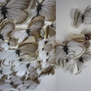 Papillon GINETTE blanc Marjorie Colas