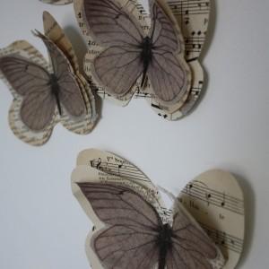 Papillon GINETTE lin  Marjorie Colas