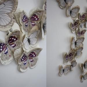 Papillon VIOLETTE  Marjorie Colas