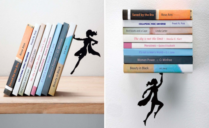 Superhero-Bookends