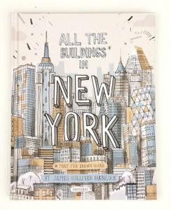 all the buildings in new-york   livre