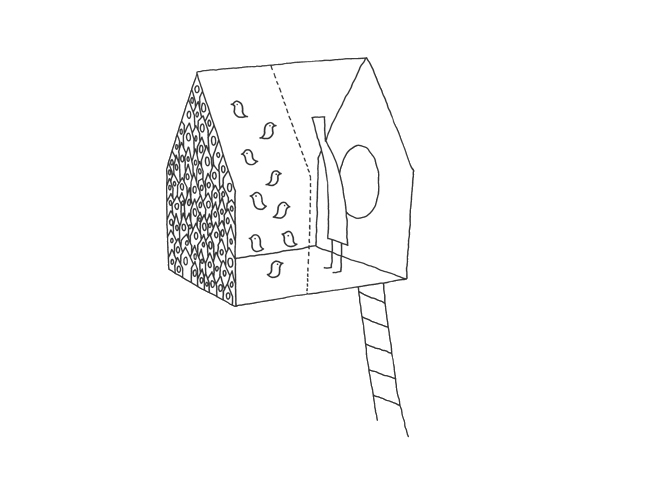 dessin Bird-apartment  NENDO 1
