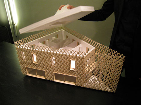 green-house-architecture-model