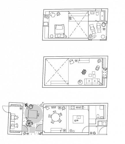les 3 niveaux maison ELDING OSCARSON
