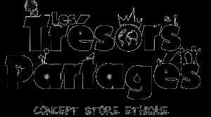 logo LES TRESORS PARTAGES  transparent