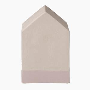 maison céramique rose BLOOMINGVILLE  TRANSPARENT
