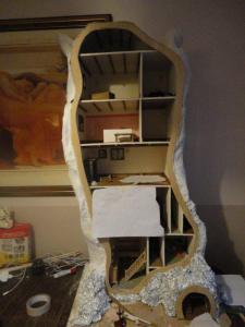 maison de poupée arbre pré-construction 2