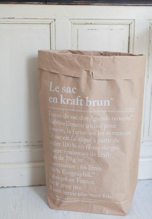 sac en kraft brun chez HAPPYTOSEEYOU.FR