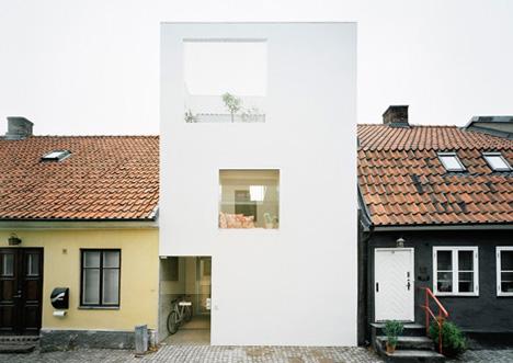townhouse-modern-contextual-design  DORNOB
