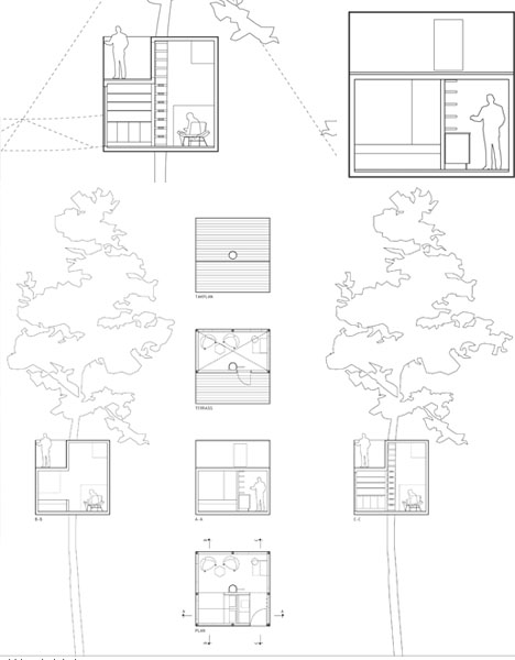 tree-hotel-design-drawing DORNOB
