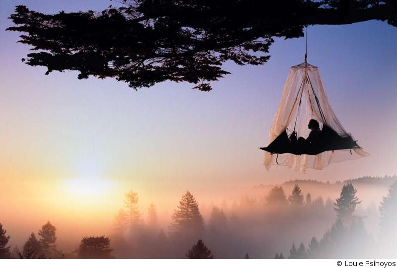 treeclimbing_portaledge_copyright_louie_psihoyos